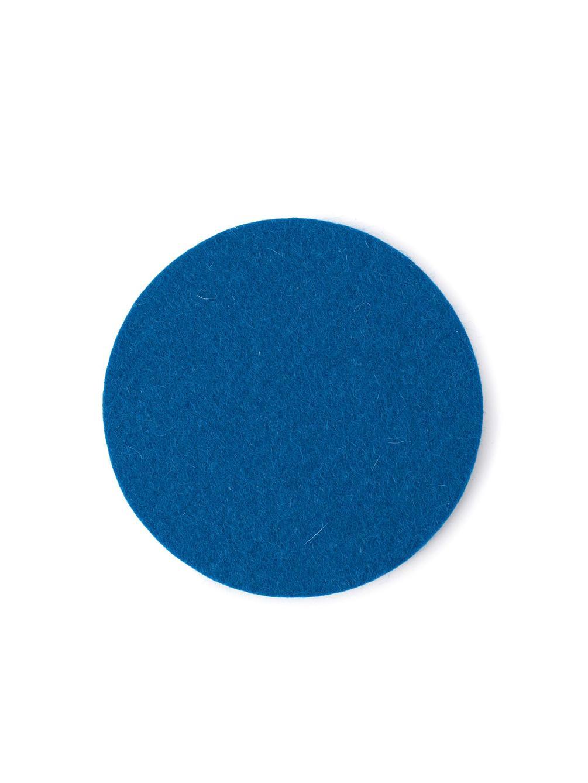 FELT COASTER BLUE