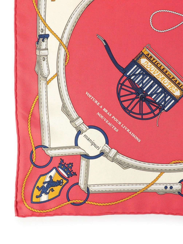 【OUTLET】シルクスカーフ CART 65×65