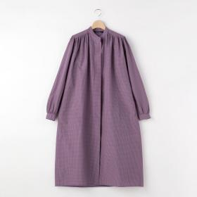 ギャザーシャツドレス WOMEN