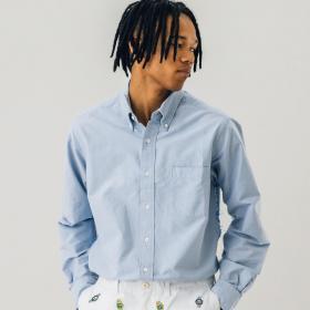 オックスフォード ボタンダウンシャツ SOLID MEN