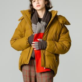 〈別注〉水沢ダウン BIGショートジャケット WOMEN