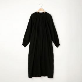ギャザーシャツドレス SOLID WOMEN