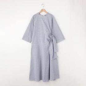 ウエストベルトドレス WOMEN