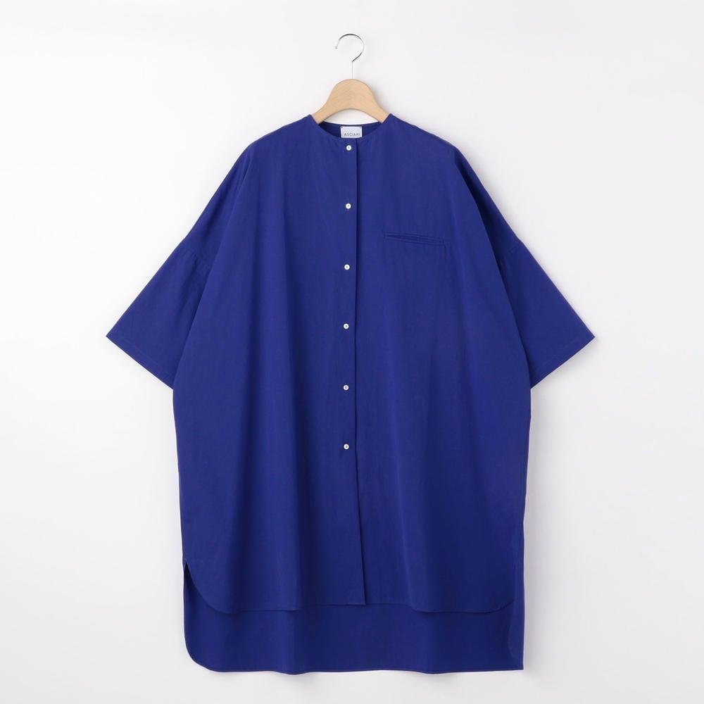 カラーレス ロングシャツ WOMEN