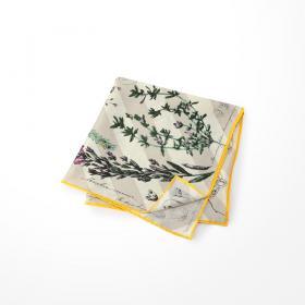 シルクスカーフ FLOWERBOOK 65×65