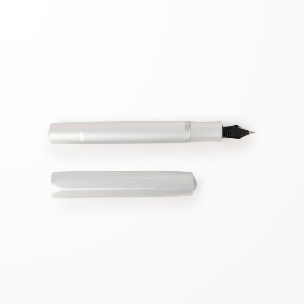 H296 ALUMINIUM FOUNTAIN PEN SILVER