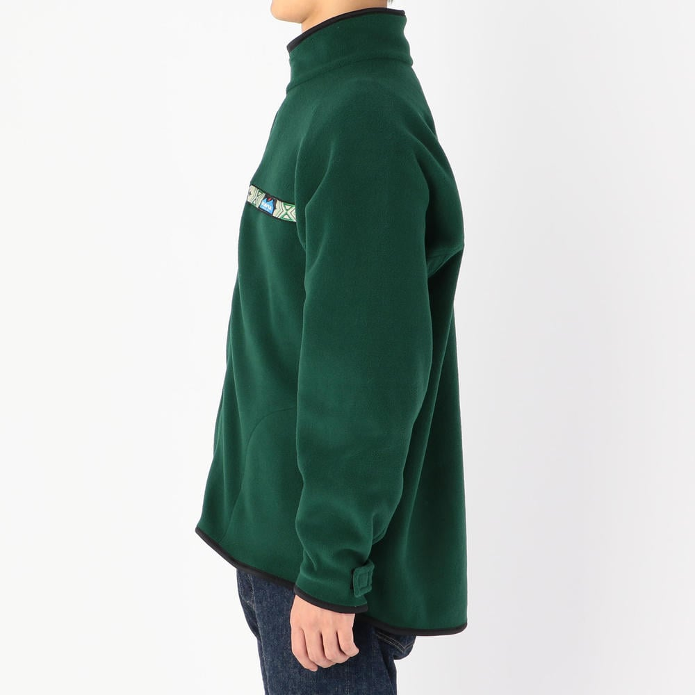 フリース フルジップスローシャツ MEN
