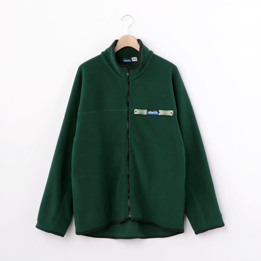 【OUTLET】フリース フルジップスローシャツ MEN