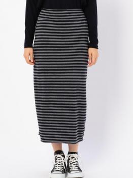 ジャージータイトスカート STRIPE WOMEN