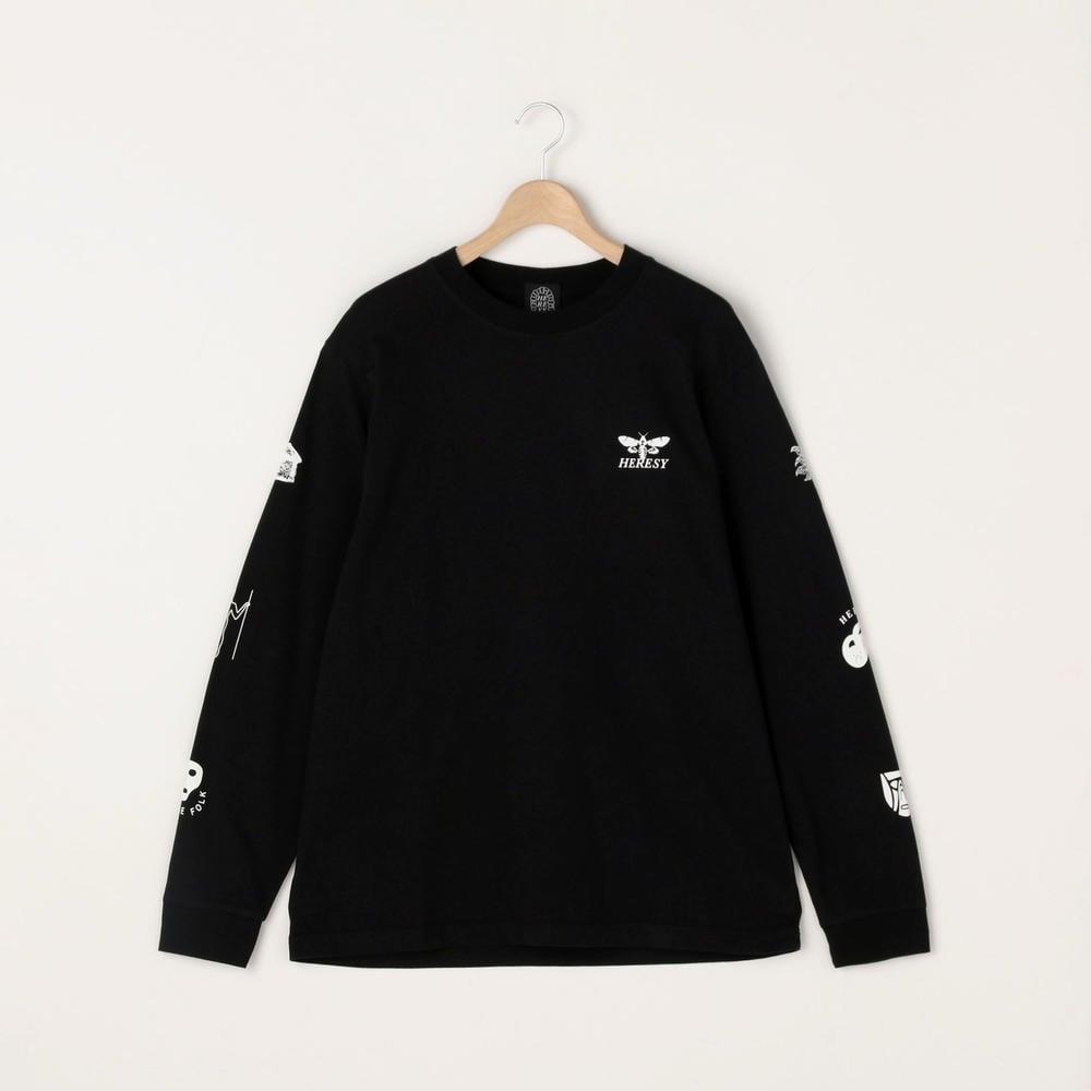 Screen Print 長袖Tシャツ MEN