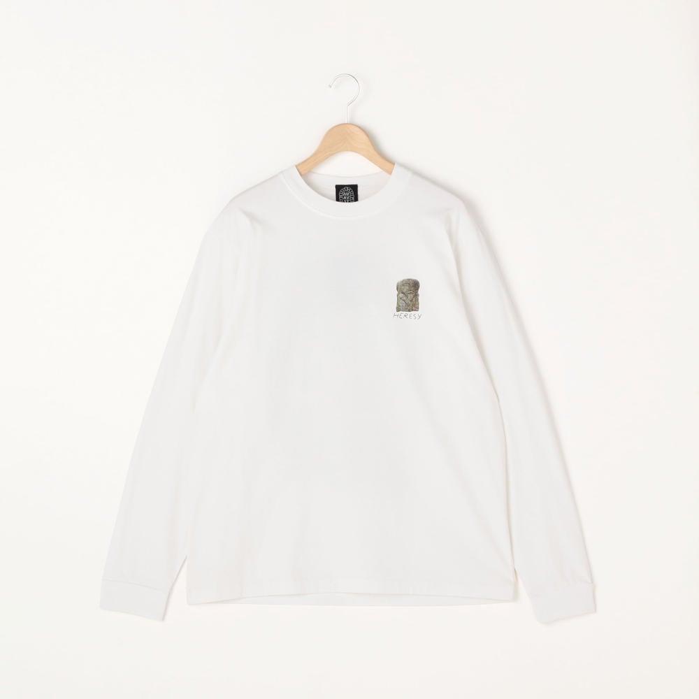 Digital Print長袖Tシャツ WHT MEN