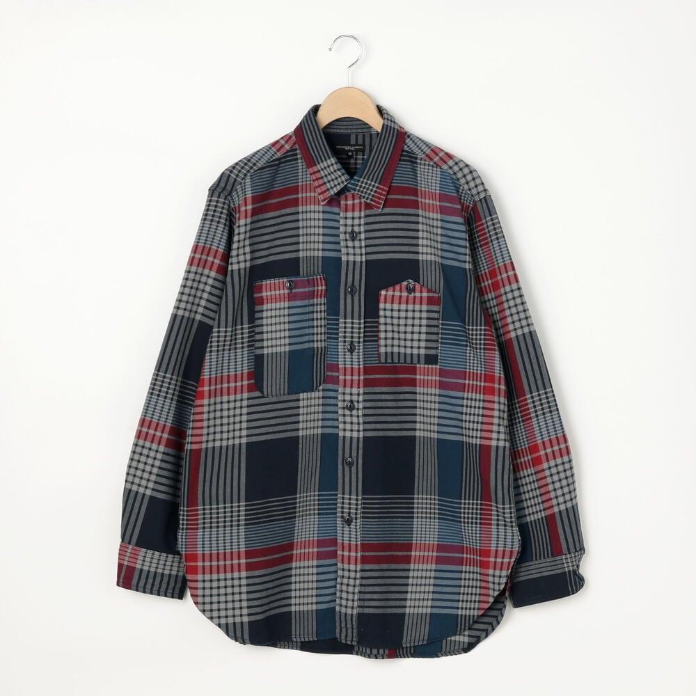 コットンツイル ワークシャツ MEN