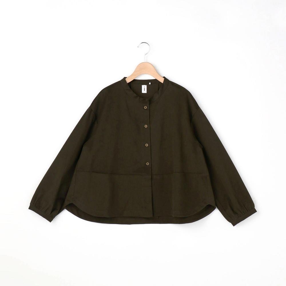 ギャバジン シャツジャケット WOMEN