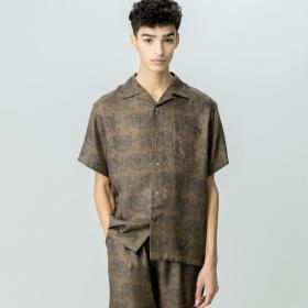 シルクオープンカラーシャツ MEN