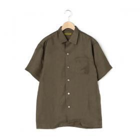 〈別注〉シルクオープンカラーシャツ MEN