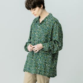 フォレストプリント 6ポケットシャツ WOMEN