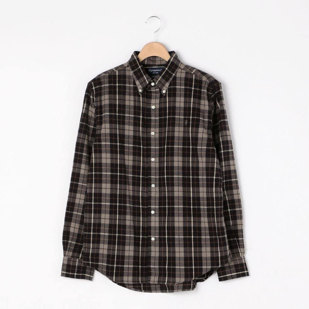 【OUTLET】フランネル ボタンダウンシャツ VHC MEN