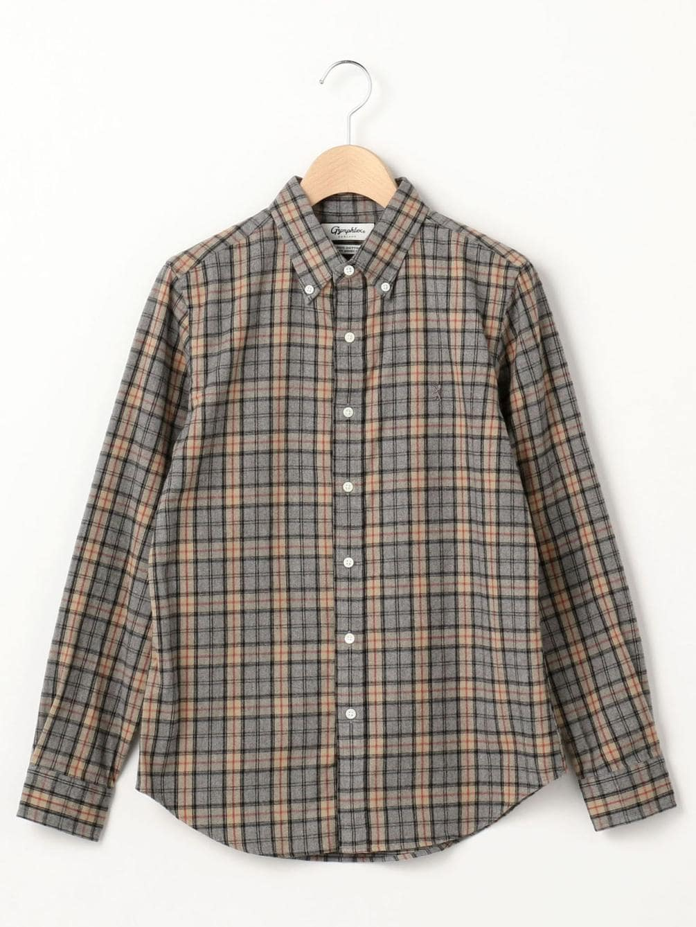 フランネル ボタンダウンシャツ VHC WOMEN