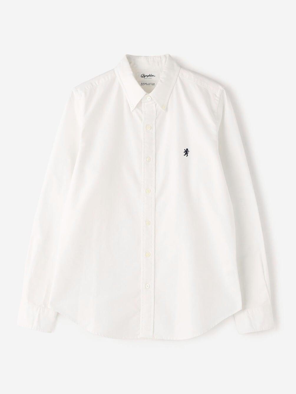 長袖ボタンダウンシャツ YOX WOMEN