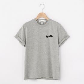 クルーネック ロゴTシャツ WOMEN