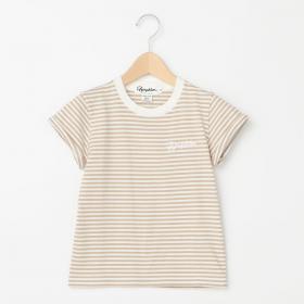 キッズ 半袖ロゴTシャツ STRIPE