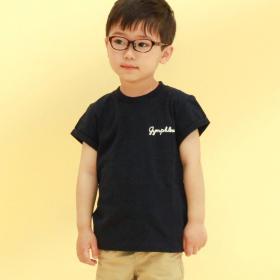 キッズ 半袖ロゴTシャツ SOLID