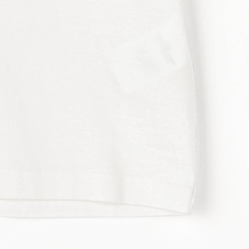 キッズ 刺繍ロゴTシャツ SOLID