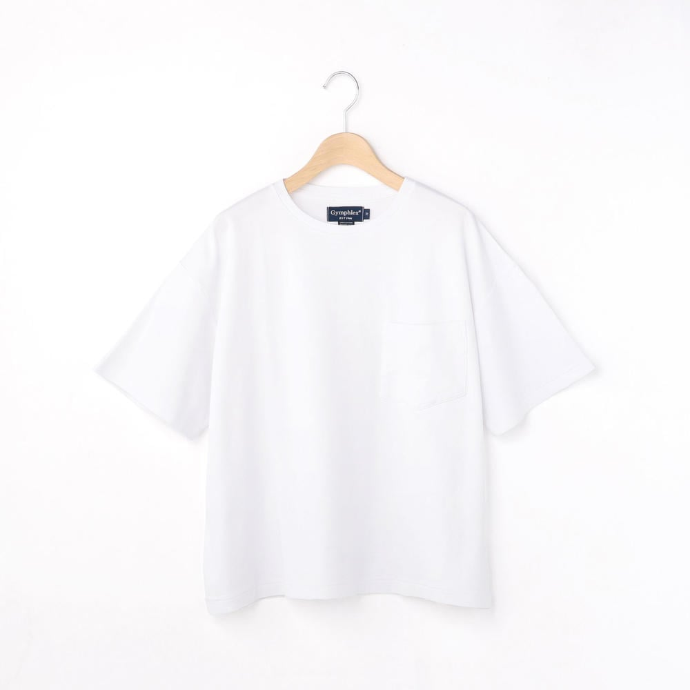 【OUTLET】インターロック 半袖ポケットTシャツ WOMEN