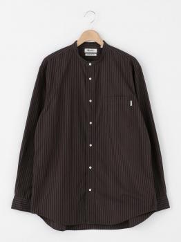 ギザコットン バンドカラーシャツ NTS MEN