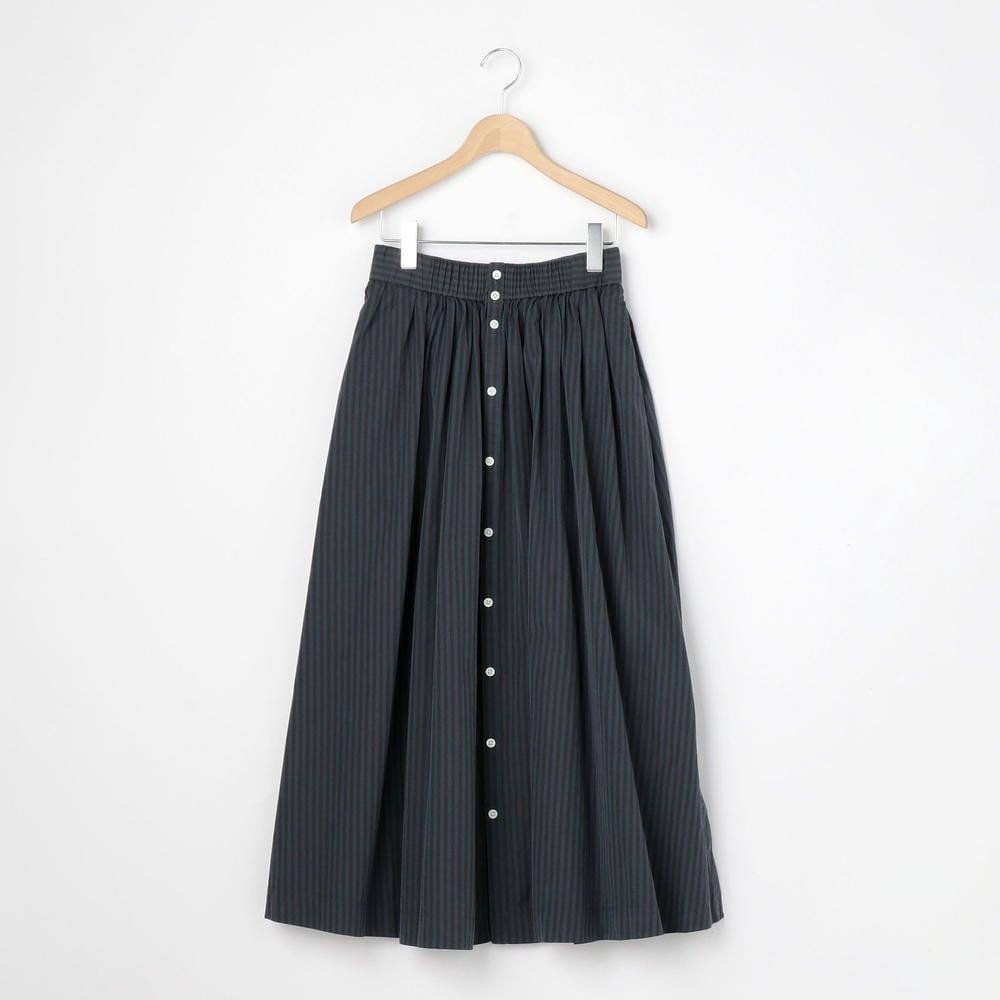 ストライプギャザースカート NTS WOMEN