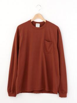 【OUTLET】〈別注〉長袖ポケットTシャツ MEN