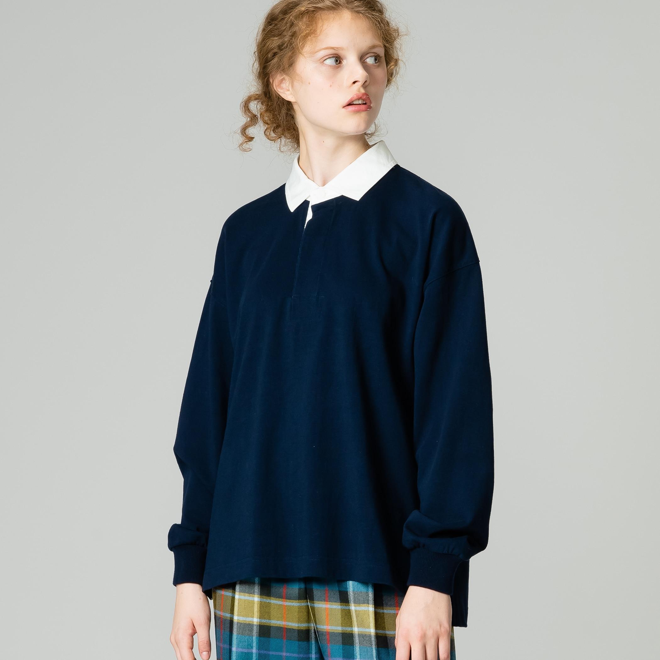 ラグビーシャツ SOLID WOMEN