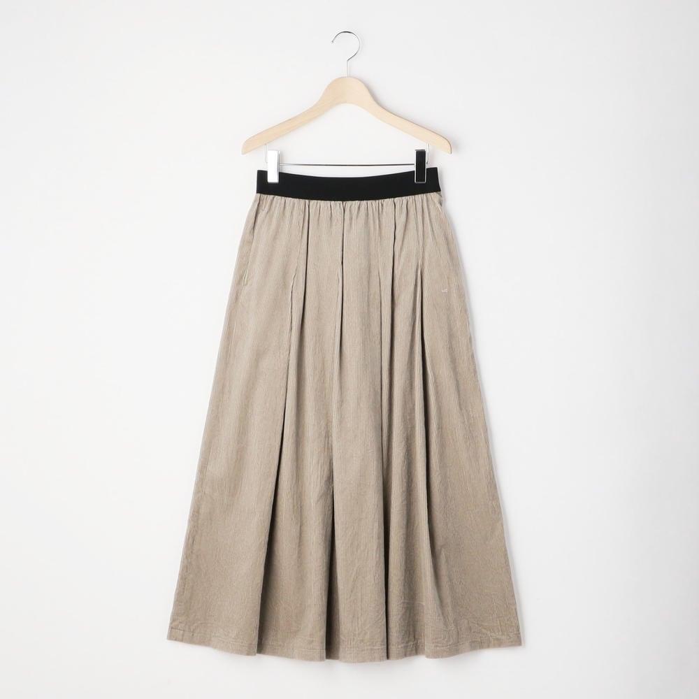 ギャザープリーツスカート AWC WOMEN