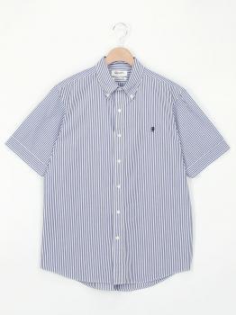 半袖ボタンダウンシャツ STRIPE MEN