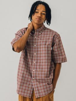 半袖ビッグボタンダウンシャツ NBP MEN