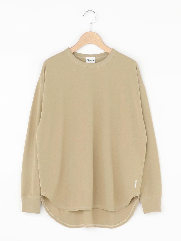 【OUTLET】ラウンドカット クルーネックTシャツ WOMEN
