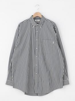 マルチストライプ ビッグボタンダウンシャツ MUP MEN