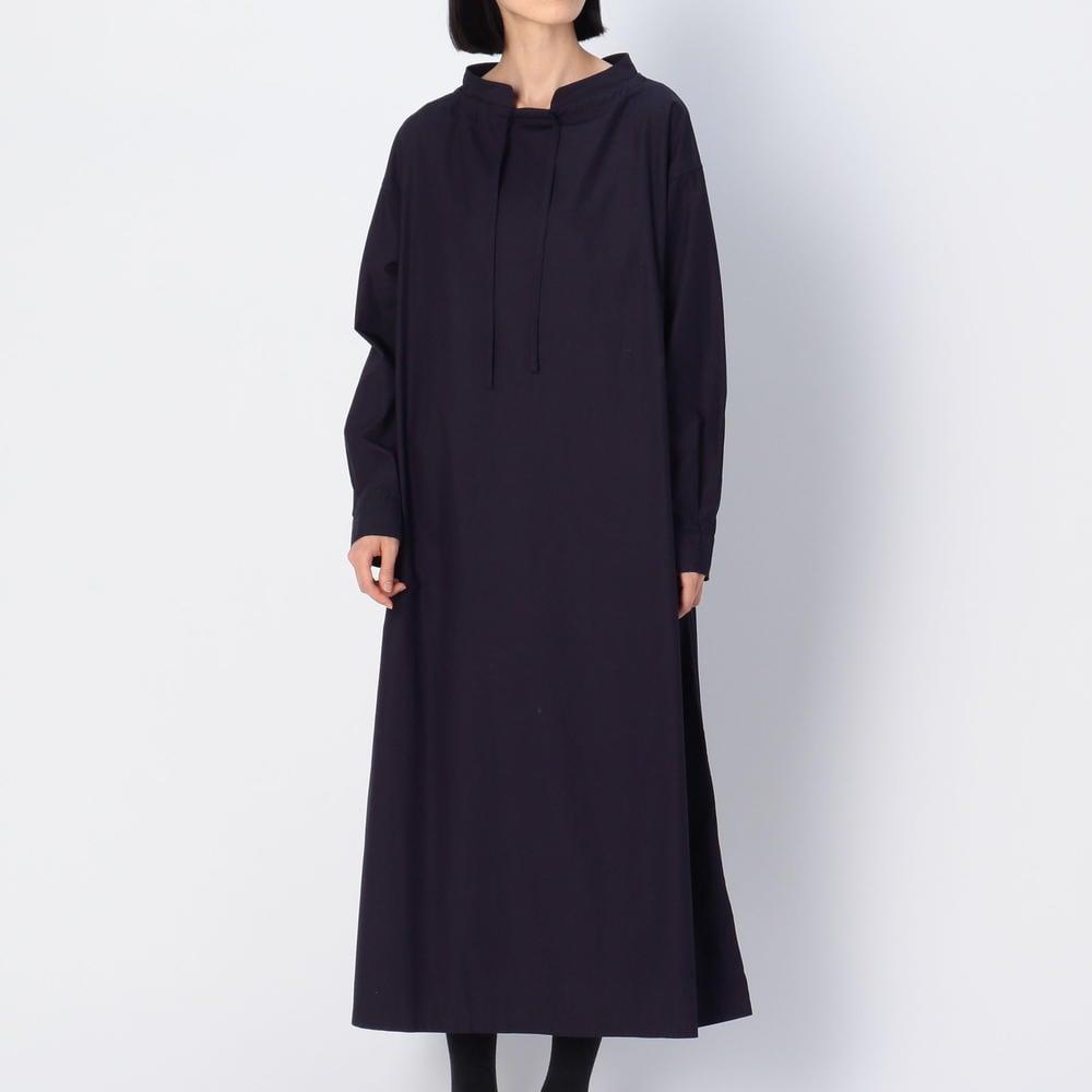 コットンポプリン プルオーバーシャツドレス WOMEN