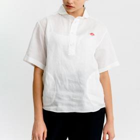 半袖丸襟プルオーバーシャツ KLS WOMEN