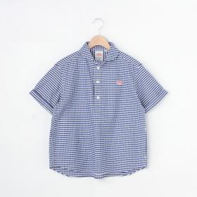 半袖丸襟プルオーバーシャツ TRD CHECK WOMEN