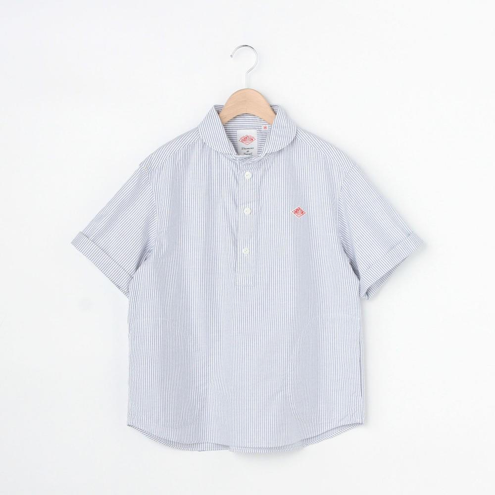 半袖丸襟プルオーバーシャツ TRD STRIPE WOMEN