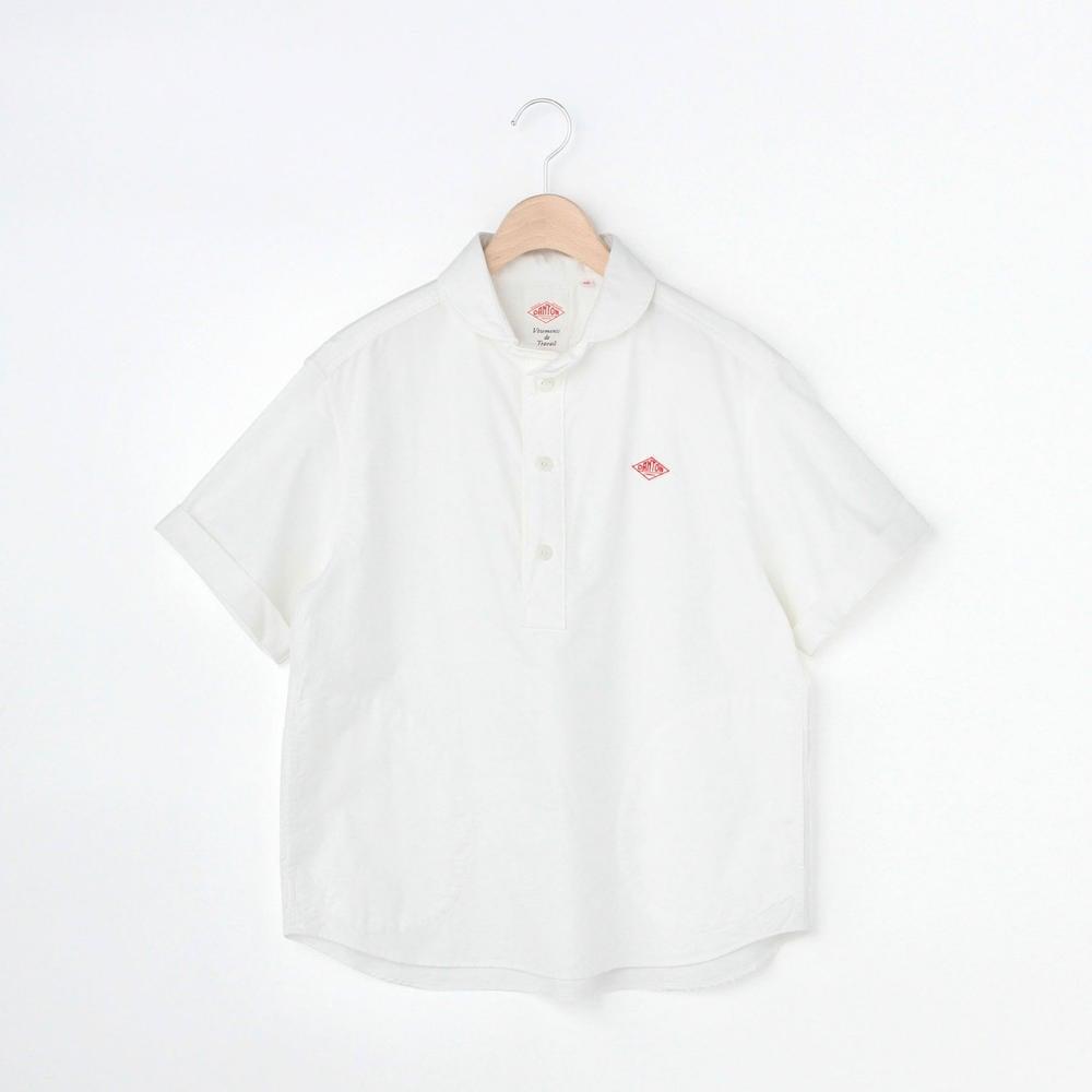 半袖丸襟プルオーバーシャツ YOX WOMEN