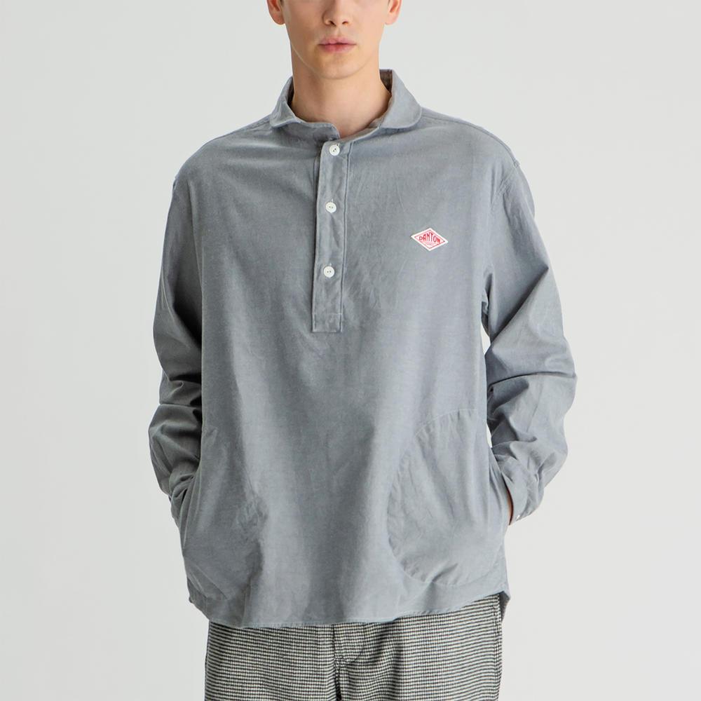 【フェア対象】丸襟プルオーバーシャツ VSS MEN