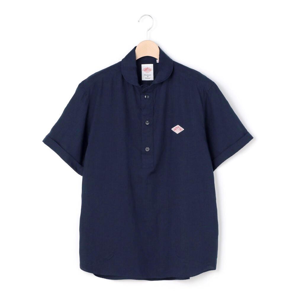 半袖丸襟プルオーバーシャツ KLS MEN