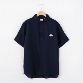 半袖プルオーバーリネンワークシャツ KLS MEN