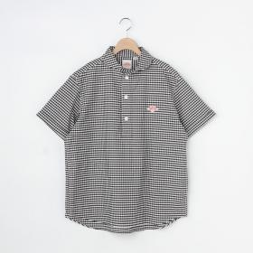 半袖丸襟プルオーバーシャツ TRD CHECK MEN