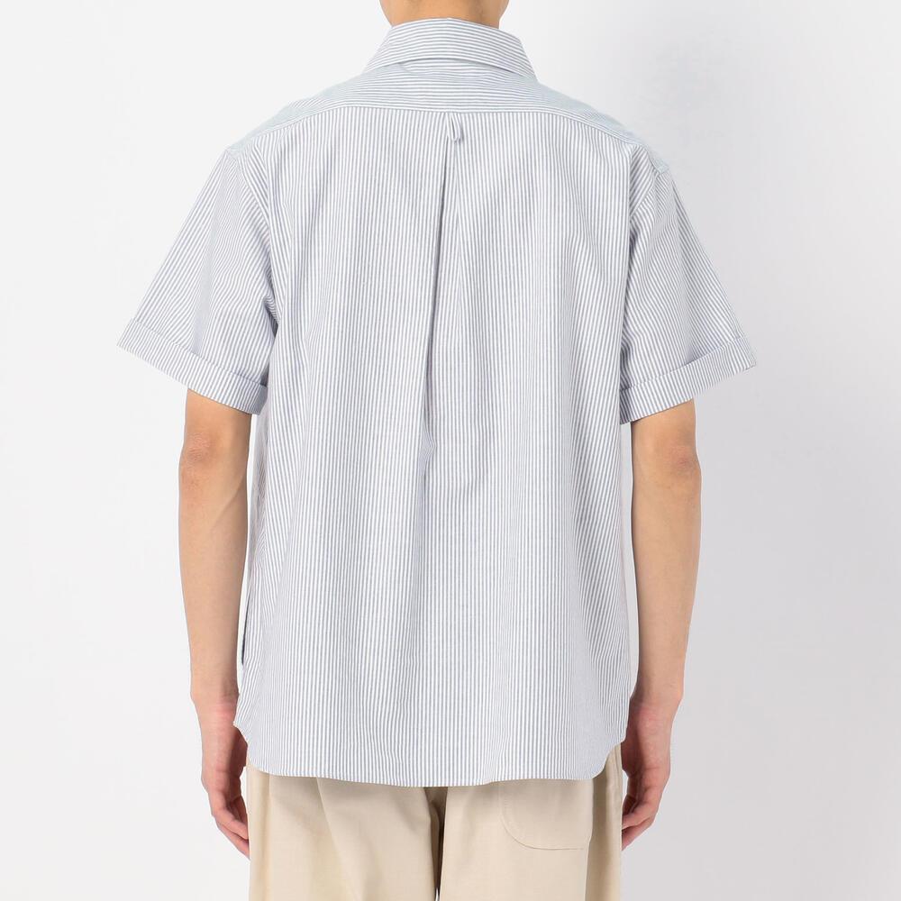 半袖丸襟プルオーバーシャツ TRD STRIPE MEN