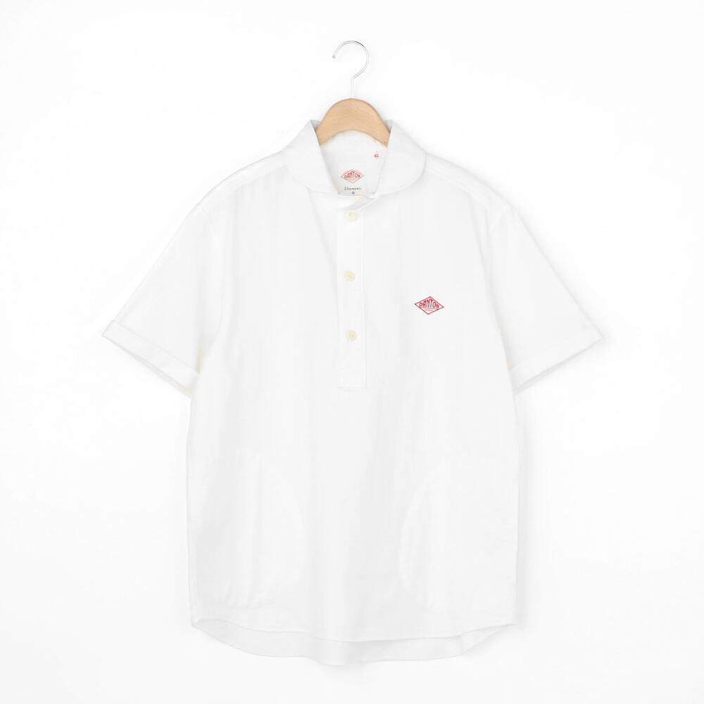 半袖丸襟プルオーバーシャツ YOX MEN