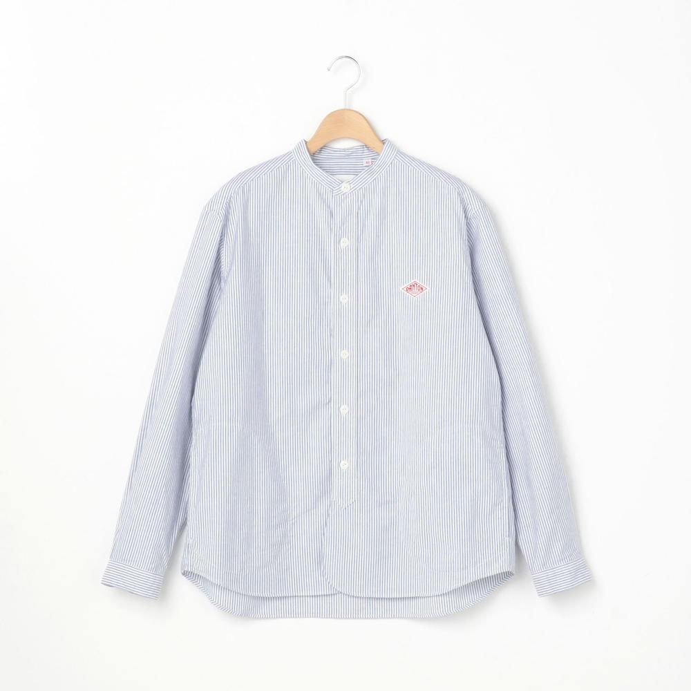 【フェア対象】長袖バンドカラーシャツ TRD MEN