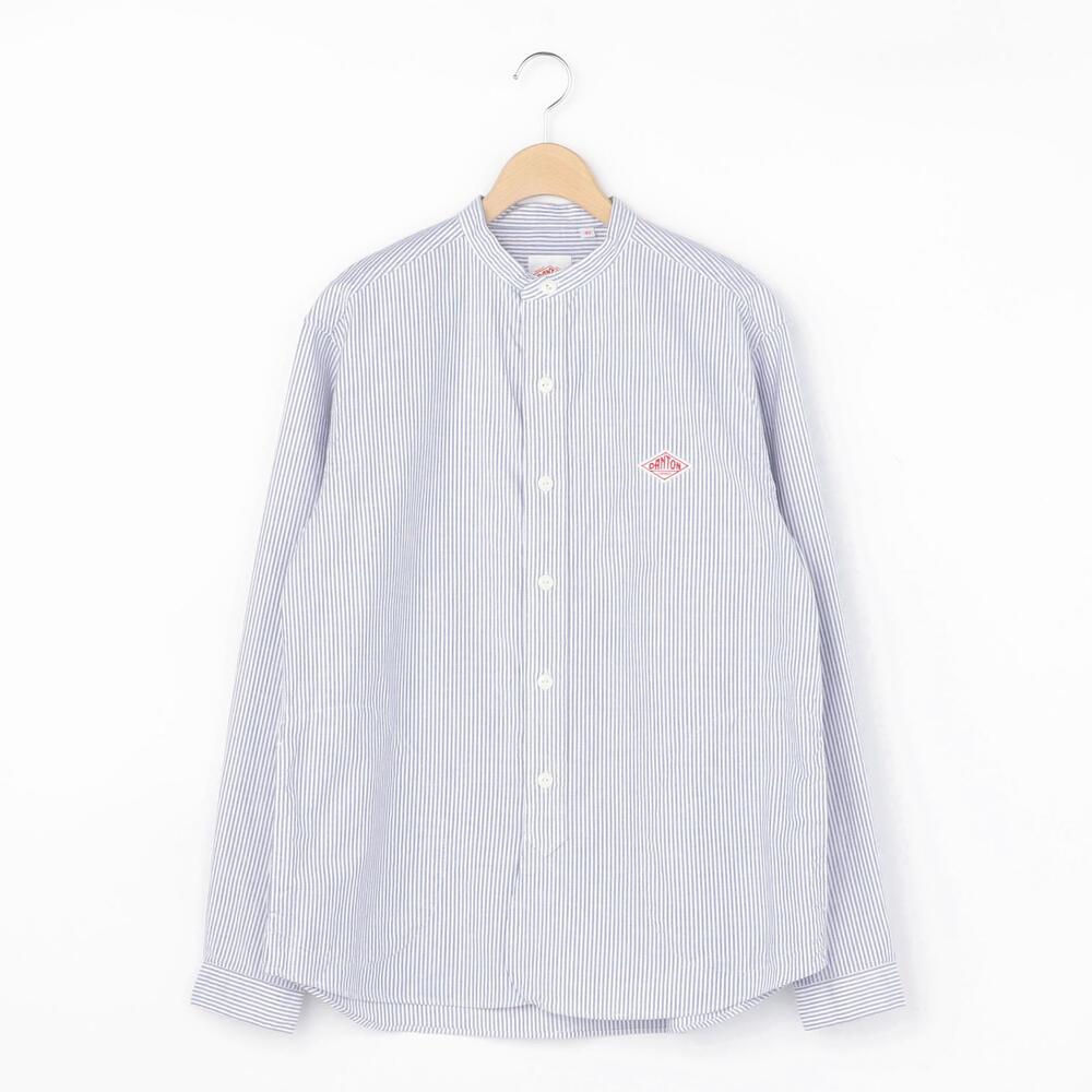 長袖バンドカラーシャツ TRD MEN